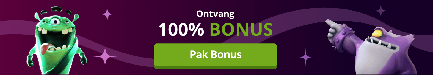 100 procent bonus bij Fruits4Real